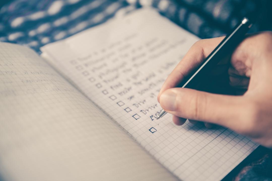 Jedinečná příležitost, kdy si začít psát seznam přání a cílů